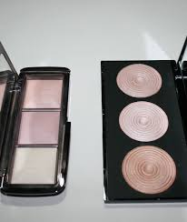 makeup revolution radiance palette vs hourgl ambient lighting review