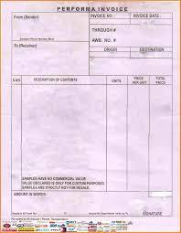 Courier Invoice Template 24 Courier Bill Format In Word Simple Bill 7