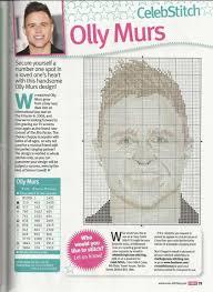Olly Murs Cross Stitch Chart Cross Stitch Celeb Stitch