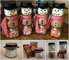 Hot Cocoa Snowman Gift for Christmas