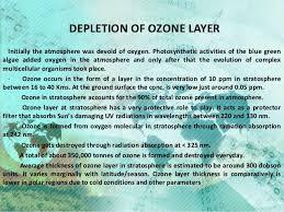 acid rain ozone depletion global warming 38 polar ozone