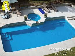 monaco bay custom fiberglass pools and spas