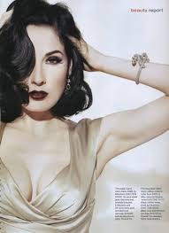 dita von teese to launch new makeup line with art deco cosmetics cosmeticake up beauty marks nice and makeup