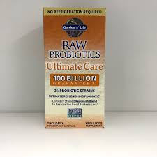 garden of life raw probiotics ultimate care shelf stable