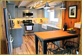 cabin kitchen design. Simple Design Kitchen Rustic Cabin Kitchens 5 Reasons To Choose Modern Design  With Gray U Shaped Log Inside S
