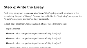 change continuity over time ccot essay ap world history ppt step 4 write the essay each body paragraph is a snapshot of time