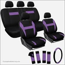 cute girly car seat covers awesome oxgord 17 piece car seat cover automotive set mustang
