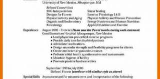 Exercise Science Resumes Exercise Science Resumes In Lancaster Pa Design And Ideas Page 0