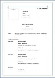... Marvelous Simple Resume Format 15 Simple For Freshers Pdf ...