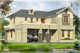 bedroom india house plan 2800 sq ft