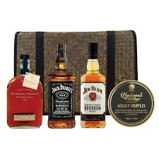 bourbon whisky and chocolates her