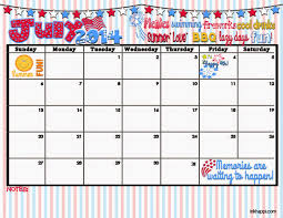 The Willow Wood Relief Society Monthly Calendar July 2014