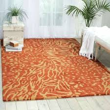 rust colored area rugs modern rust beige area rug from e furniture rust color area rugs
