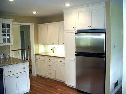 built in refrigerator cabinet. Diy Built In Refrigerator Cabinet Kitchen Appliance Appliances Mid Continent Cabinetry Cabinets For Refrigerators
