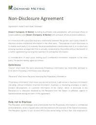 Mutual Confidentiality Agreement Classy Nice Software Template Photos Free Confidentiality Agreement Generic