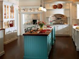 Nice DIY Colorful Kitchen Island
