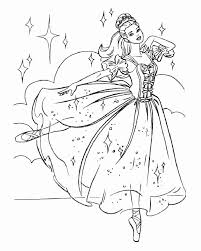 Ballerina Coloring Pages With Ballerina Kristyn