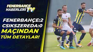 Fenerbahçe 2-0 Csikszereda MESUT ÖZİL'DEN FUTBOL RESİTALİ (Hazırlık Maçı) /  15.07.2021 - YouTube
