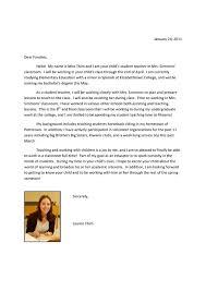 Digication EPortfolio Lauren Thim's Portfolio 40th Grade Beauteous Letter Of Introduction Teacher