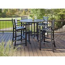 trex outdoor furniture bar height dining sets txs119 1 cb 64 1000