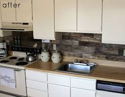 Small Picture Kitchens with Rustic Themed Backsplash My Home Design Journey