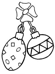 Small Picture Printable Coloring Pages Christmas Ornament For Kids Christmas