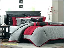 grey comforter sets queen red and set awesome king black white gold