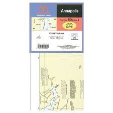 Maptech Wpc080 Waterproof Chart Annapolis