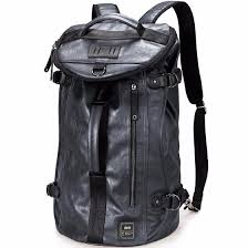 Shop UIYI <b>New</b> Arrival <b>2018 Men Backpack</b> Fashion PU Leather ...