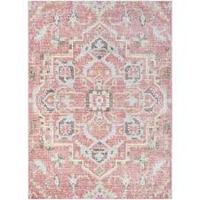 awesome pink area rug with modern pink area rugs allmodern