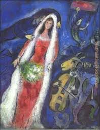 marc chagall paintings for handmade canvas reions