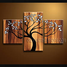 new multi wall art paintings for living room collored function tree sculture decor nature stunning unique