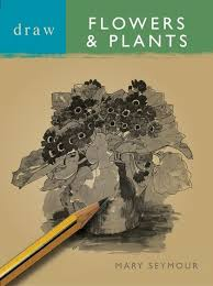 draw flowers and plants draw books