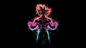 Dragon Ball Z Goku Ultra Instinct Fire ...