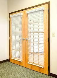 door blinds blinds french doors wood installed on magnetic inside mini for design 8 pella patio door blinds between glass