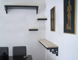 Corner Cat Shelves 100 Cool DIY Cat Trees IHeartCats 27