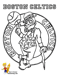 Sports Coloring Pages Basketball Color Bros