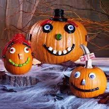 candy corn pumpkin carving.  Pumpkin Easy NoCarve Pumpkin Crafts For Candy Corn Carving N