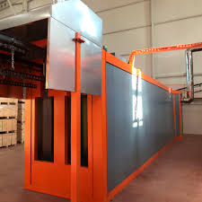 Tunnel Oven Design Tunnel Oven Curing Powder Coating U Type Tunnel Ovens İstanbul Electrostatics