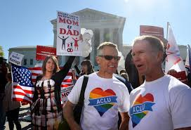 supreme court hears same sex marriage arguments cbs news