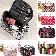 details about women multifunction travel cosmetic bag makeup case pouch toiletry storge case