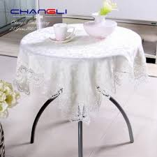 european fabric tablecloth lace table cloth white coffee table cloth jacquard round tablecloth bedside table cover towel