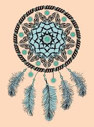 What Native American Tribes Use Dream Catchers Dream Catcher Hand Drawn Native American Indian Talisman With 86