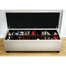 shoe storage ottoman cushioned ottoman used as shoe storage shoe storage ottoman bench diy