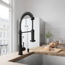 VIGO Edison Pull Down Single Handle Kitchen Faucet Reviews Wayfair Stunning Kitchen Faucet Design