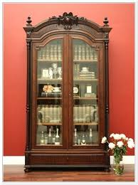 display cabinet with glass doors antique cabinets unbelievable vitrine antiques atlas home interior sliding door track