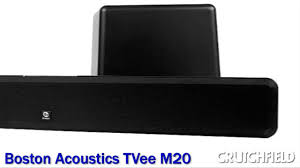 Boston Tvee Model Two Red Light Boston Acoustics Tvee M20 Sound Bar With Wireless Subwoofer Crutchfield Video