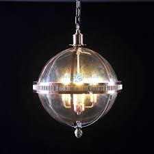 lighting decorative round glass ball chandelier 19 graceful large lantern copper and pics extraelierlarge style round