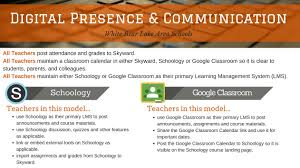 white bear tech tips digital presence communication image click here for a short video on how to add your classroom calendar to your schoology page