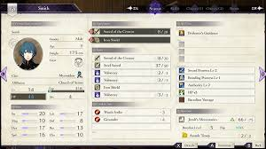 Fire Emblem Three Houses Stats Guide